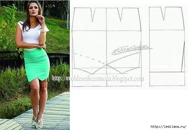Виды юбка выкройка фото