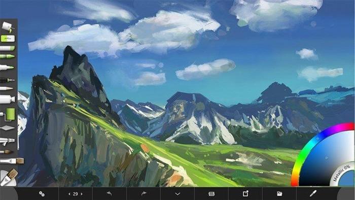 Чудесная программа для рисования ArtRage Starter Edition