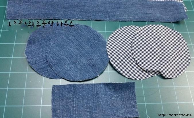 Шьем кошелек из джинсов с вязаной крючком розой (4) (676x414, 222Kb)