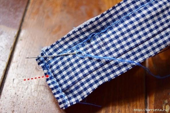 Шьем кошелек из джинсов с вязаной крючком розой (12) (592x395, 212Kb)