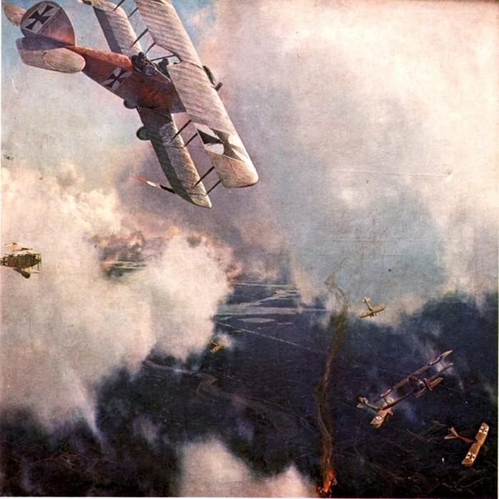 Основные воздушные войны 20 века