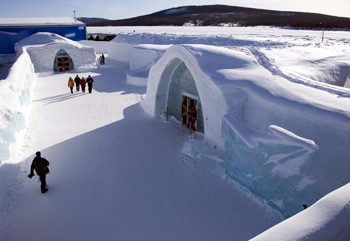 ледяной отель в швеции 1 (700x481, 299Kb)