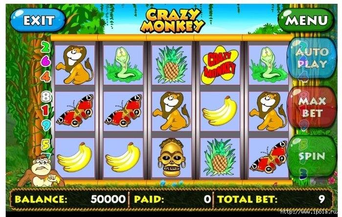"""alt=""""Игровой автомат Crazy Monkey (Крейзи манки)""""/2835299_Igrovoy_avtomat_Crazy_Monkey_Kreyzi_manki_14379865538 (700x444, 259Kb)"""