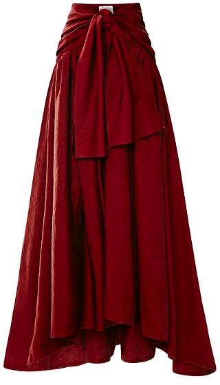 large_rosie-assoulin-burgundy-ultrafine-washed-satin-tie-front-skirt1 (320x560, 152Kb)