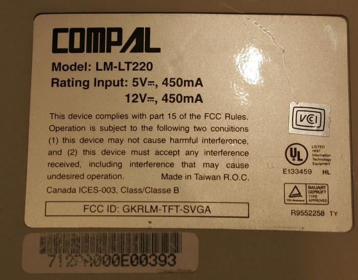 COMPAL TVC02 GKRTVC02 LM-LT220 (700x548, 132Kb)