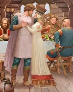 свадебный конкурс для знакомства гостей