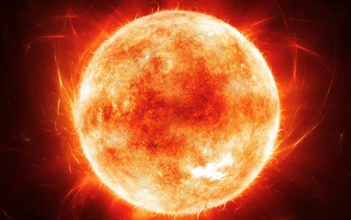 Почему Солнце желтого цвета