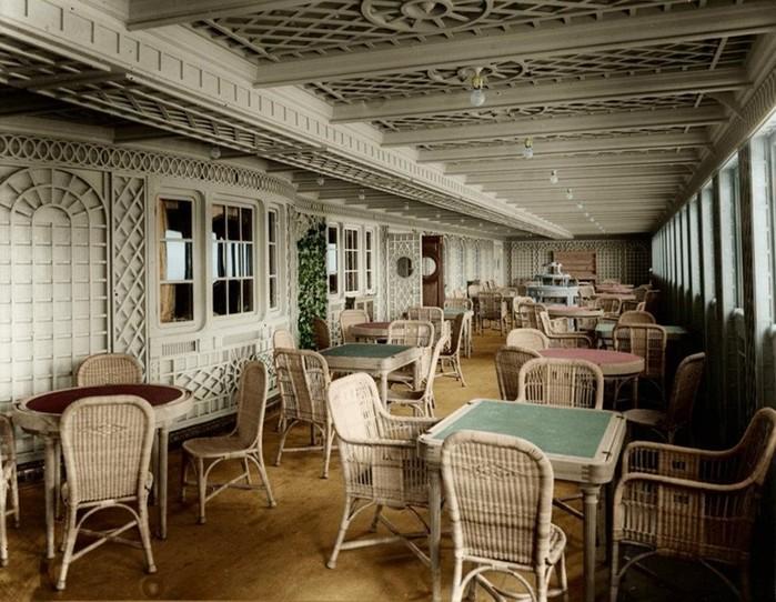 Уникальные фотографии Титаника перед катастрофой
