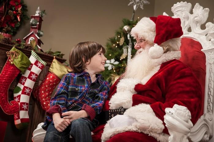 О вере в Деда Мороза. Разговор с ребенком