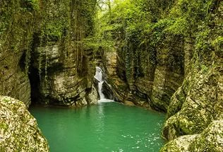 чёртова-купель агурские водопады 2 (316x215, 107Kb)