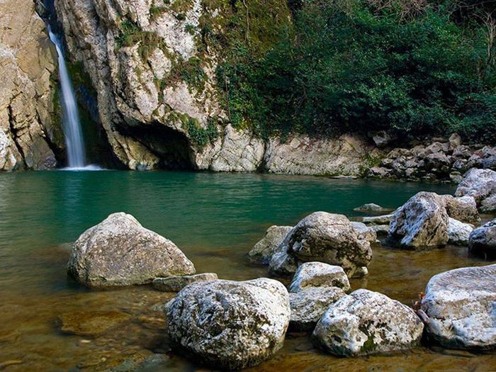 чёртова-купель агурские водопады 4 (700x525, 492Kb)