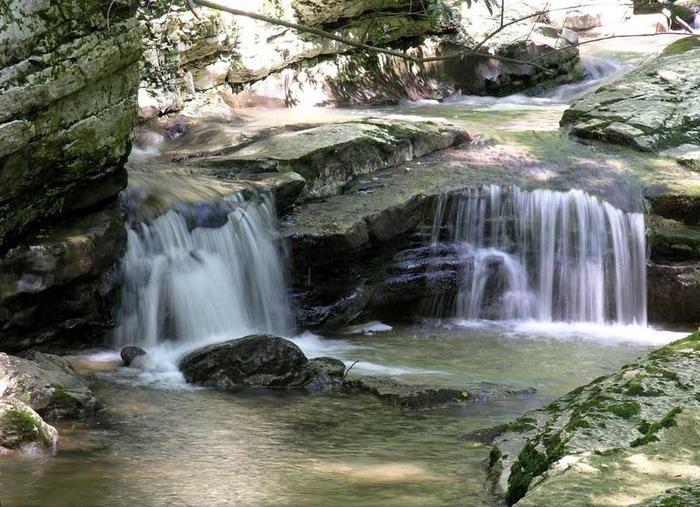 чёртова-купель агурские водопады 6 (700x507, 378Kb)