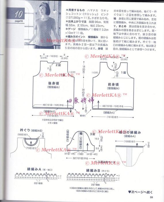 Вязание от японских дизайнеров