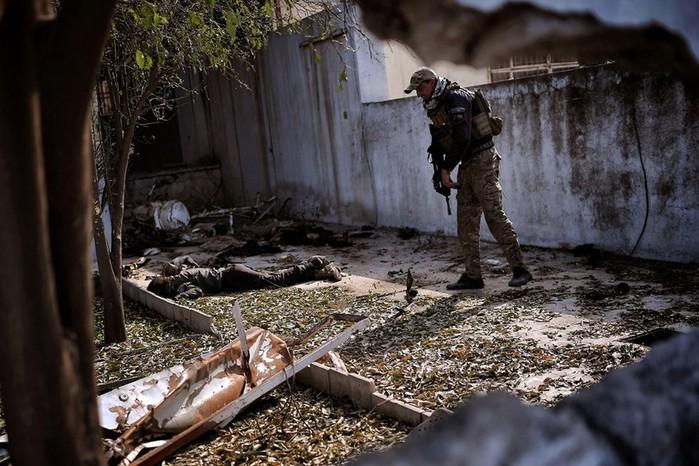 Ужасные кадры войны в иракских городах