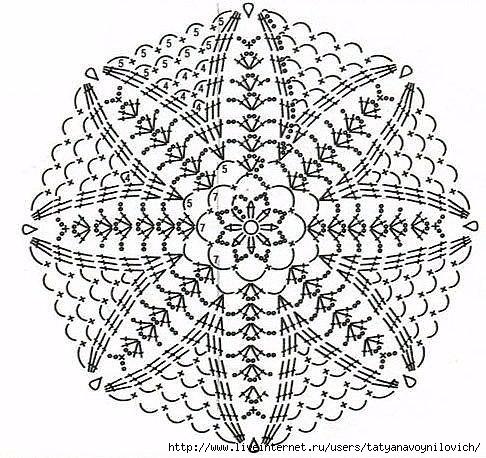 Красивые схемы мотивов 1 (486x458, 204Kb)