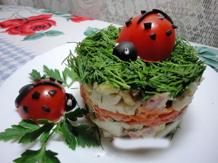 Жульен с грибами - пошаговый рецепт с фото на Повар.ру