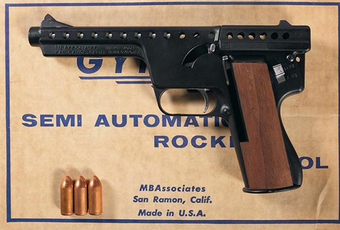 Лазерный пистолет истреляющий эспандер! Пять самых необычных ибессмысленных пистолетов