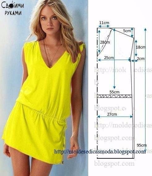 Шьем летние платья дома