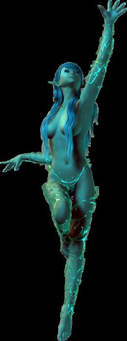 6090083_Water_Elemental_4 (260x700, 108Kb)