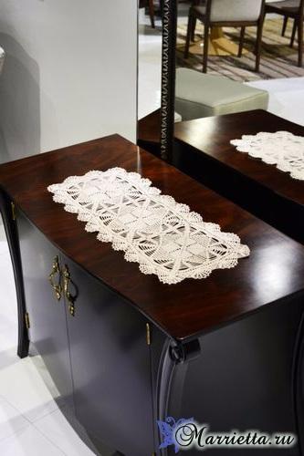 Длинная салфетка для комода или журнального столика (2) (333x500, 129Kb)