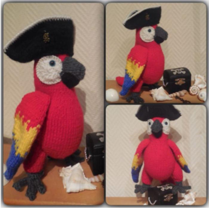 попугай (700x699, 337Kb)