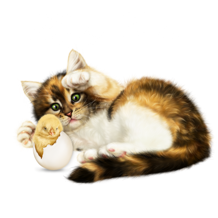 6090083_easter_kitten_with_a_chick2 (700x700, 401Kb)