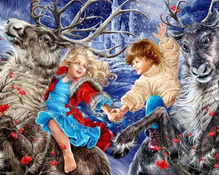 Добро пожаловать в удивительный мир сказочных иллюстраций Инны Кузубовой!