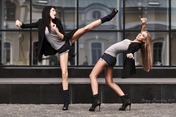 Женские дуэли и кулачные бои в России
