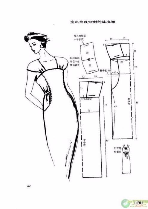 Выкройка платья своими руками в картинках