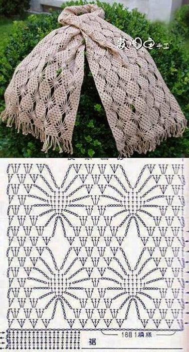 шарф (377x700, 145Kb)