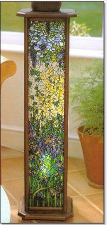 Мастер-класс росписи стекла. Стойка в стиле Тиффани (7) (215x450, 112Kb)