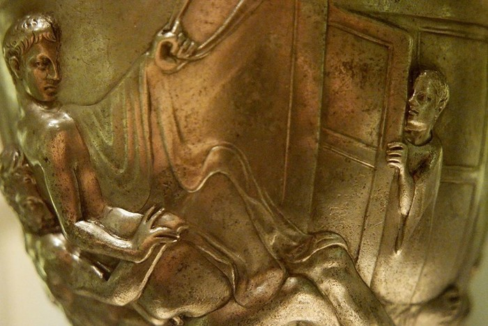 Чаша Уоррена  уникальный древнеримский кубок (18+)
