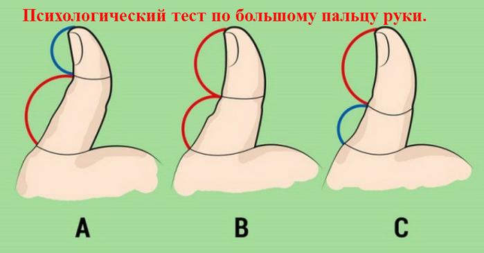 """alt=""""Психологический тест по большому пальцу руки.""""/2835299_ (700x365, 157Kb)"""