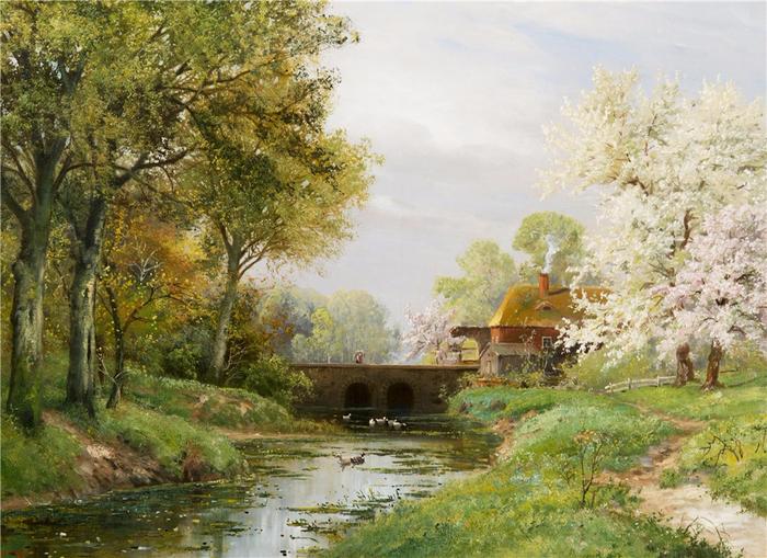 художник Alois Arnegger 8 (700x509, 486Kb)