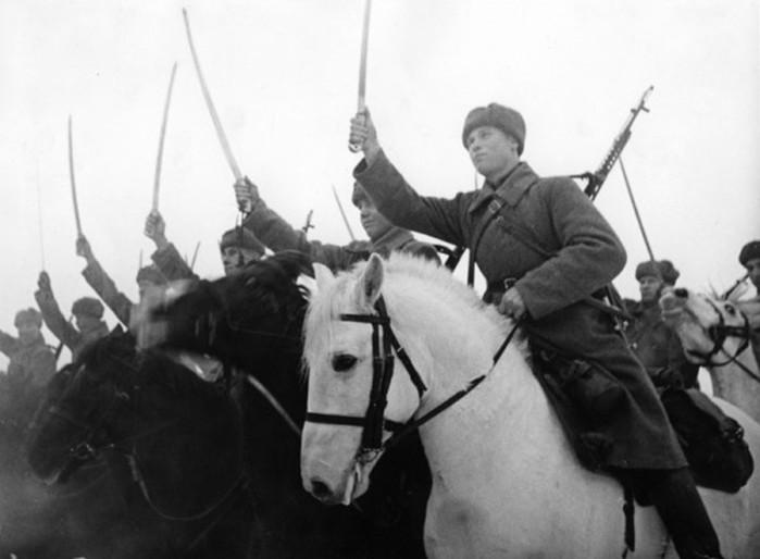 Как красная кавалерия воевала в Великую Отечественную войну