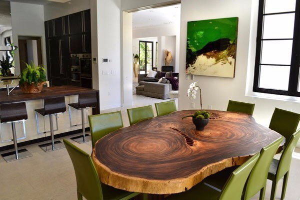 Unusual dining room furniture