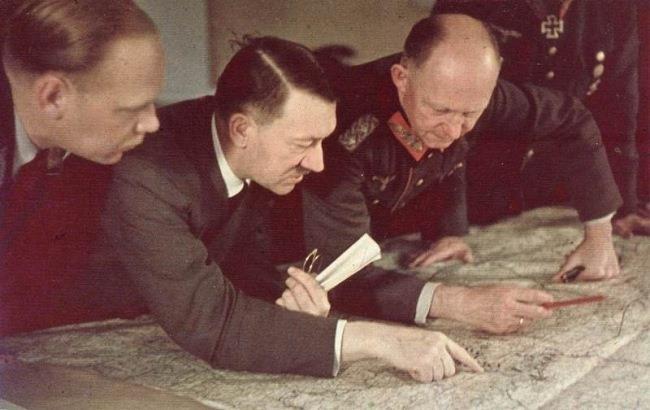Планы Гитлера по завоеванию Ближнего Востока и Индии