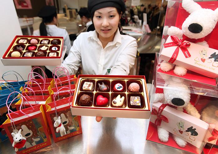 день святого валентина в японии шоколад 4 (700x496, 520Kb)