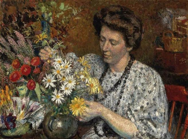 Цветочница (La fleuriste). 1908 (656x483, 460Kb)