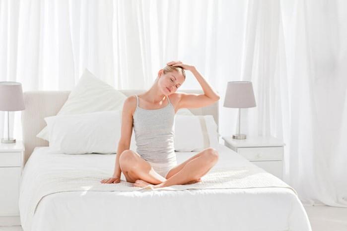 5 утренних упражнений в постели — тибетская гимнастика До-Ин для прекрасного пробуждения!