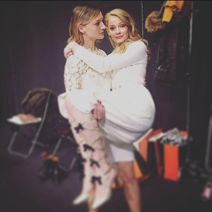 Женская дружба между знаменитостями