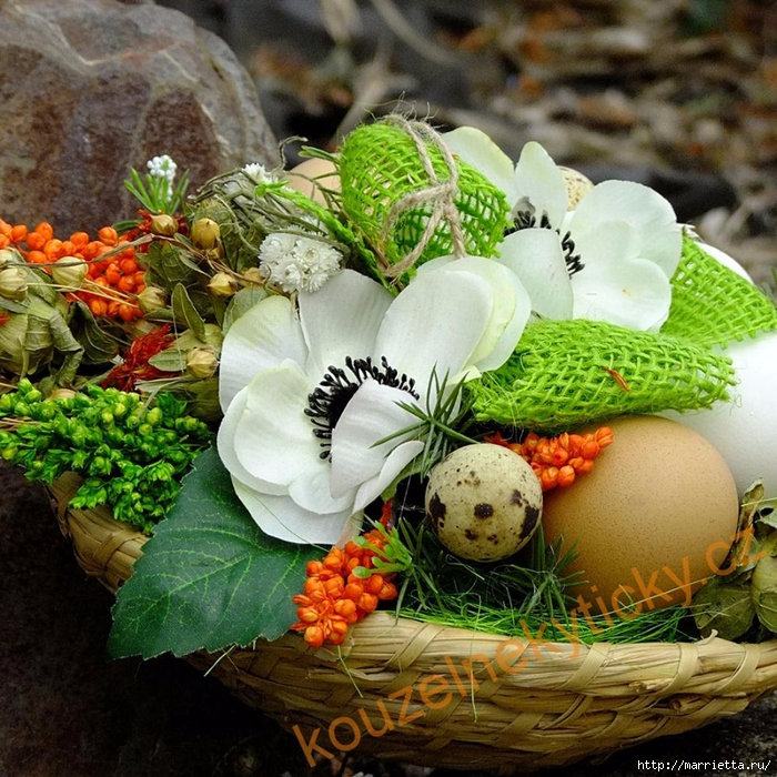 Пасхальная флористика. 35 вдохновляющих идей к празднику (24) (700x700, 440Kb)