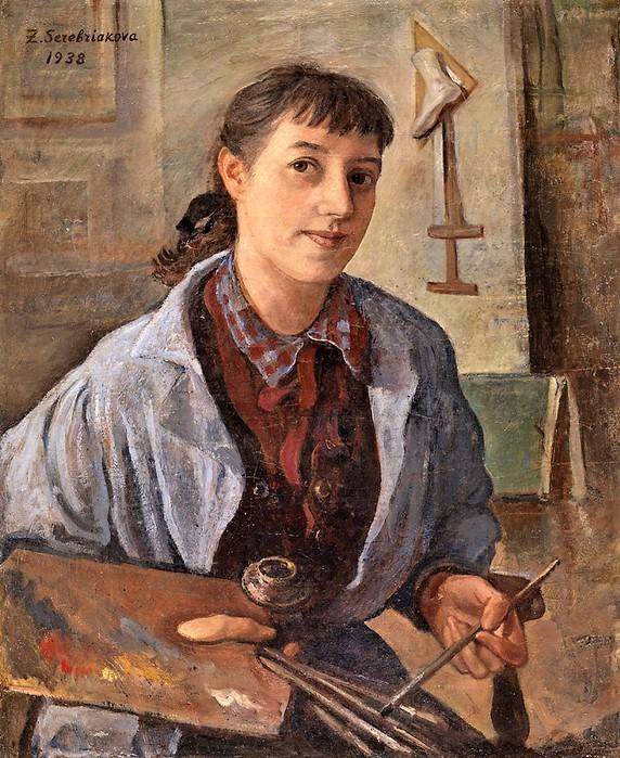 Автопортрет    1938 (572x700, 169Kb)