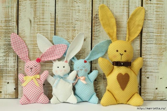 Шьем кроликов. Простая выкройка (1) (700x466, 301Kb)