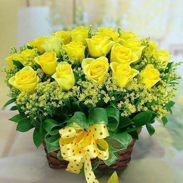Розы желтые (600x600, 108Kb)