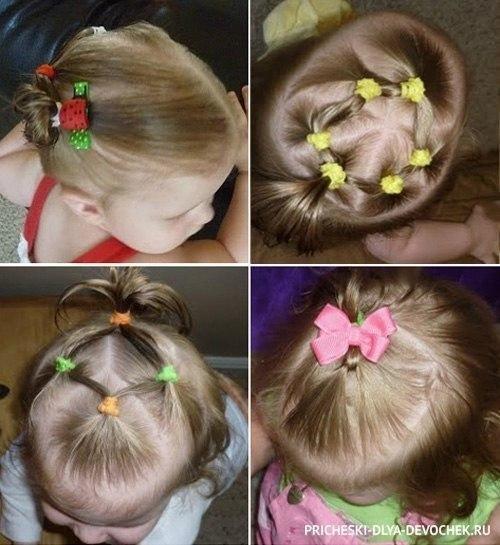 Фото причесок для детей на короткие волосы