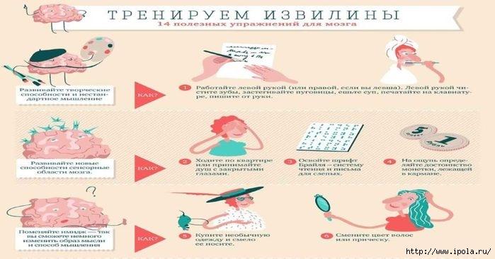 "alt=""14 необычно полезных упражнений для мозга""/2835299_yprajneniya_dlya_mozga1 (700x366, 128Kb)"