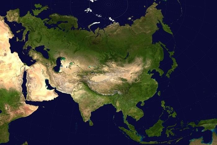 Евразия: один материк   две части света