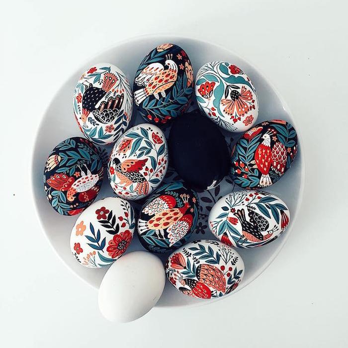пасхальная роспись яиц фото 1 (700x700, 396Kb)