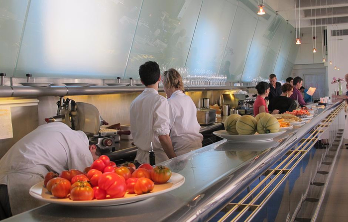 ресторан The River Cafe лондон 6 (700x446, 312Kb)